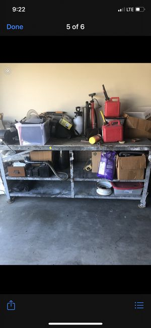 Heavy duty commercial steel work bench table for Sale in Plano, TX