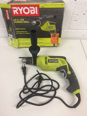 Ryobi 6.2 Amp Corded 5/8 in. Variable Speed Hammer Drill for Sale in Mesa, AZ