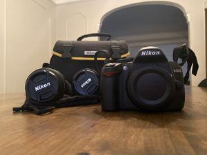 Nikon D3000 with 2 Lens Kit for Sale in Detroit, MI