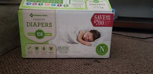 Newborn diapers/2T-3T pull-ups for Sale in Riverside, CA