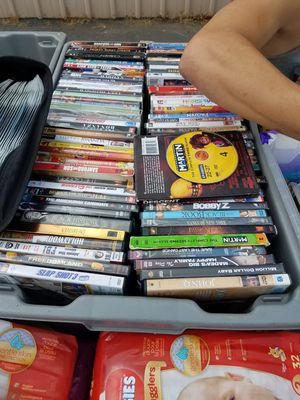 Over 125 DVDs for Sale in Charlotte, NC