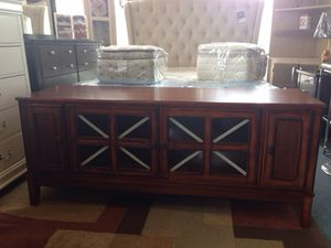 """62"""" BEAUTIFUL TV STAND NEW for Sale in Austin, TX"""