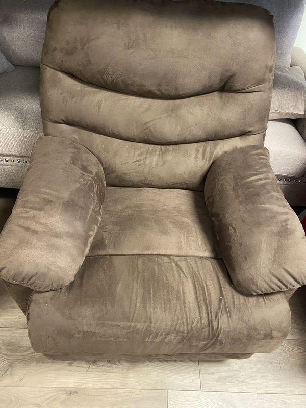 Recliner chair rocker