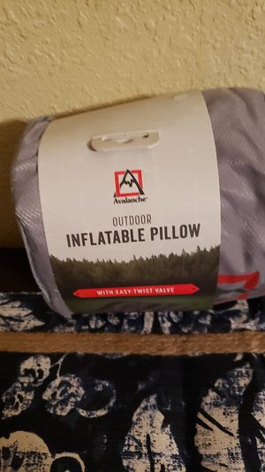 Avalanche Outdoor Inflatable Pillow for Sale in Crestview, FL