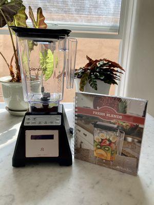 Blendtec ES3 Total Blender + 90oz Wildside Container + UNOPENED Fresh Blends Recipe Book (CLEAN!) for Sale in Los Angeles, CA