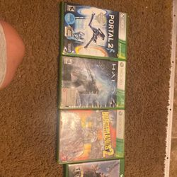 Comes With 3 Xbox 360 And 6 Xbox Games for Sale in Woodburn,  OR
