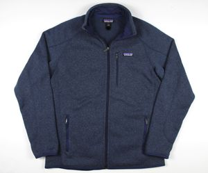 Patagonia Men's Navy Better Sweater Zip Up Fleece Size Large for Sale in Westminster, CA