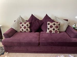 Couch and love seat for sale!!!! for Sale in Manassas, VA