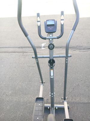 Weslo 2 on one exercise bike. Work arms and legs simultaneously speed distance time excellent tondition delivery possible for Sale in Philadelphia, PA