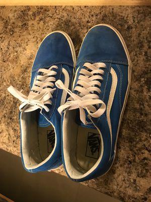 blue old skool vans size 10.5 for Sale in Miami, FL