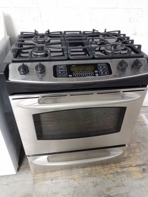 GE PROFILE SLIDE IN 4BURNER GAS RANGE🏡WE DELIVER SAME DAY!! CLEAN for Sale in Dana Point, CA