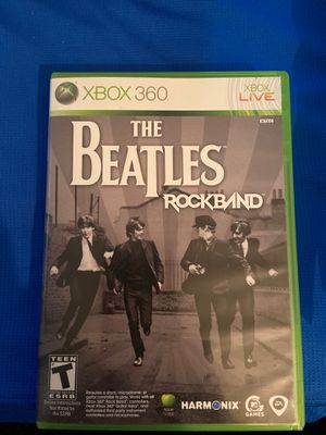 The Beatles Rockband Xbox 360 for Sale in Tucson, AZ