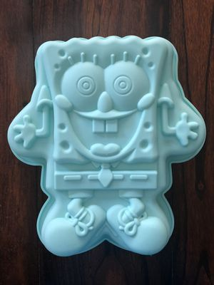 Spongebob Squarepants Birthday cake pan jello mold for Sale in Fontana, CA