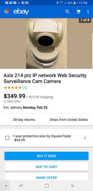 AXIS 214 PTZ Network Camera for Sale in Beulaville, NC
