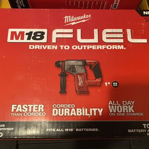 BRAND NEW MILWAUKEE FUEL 1'' SDS ROTARY HAMMER TOOL ONLY for Sale in Forest Park, IL