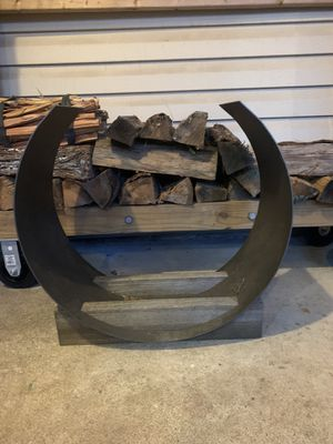 Restoration Hardware firewood holder for Sale in Herndon, VA
