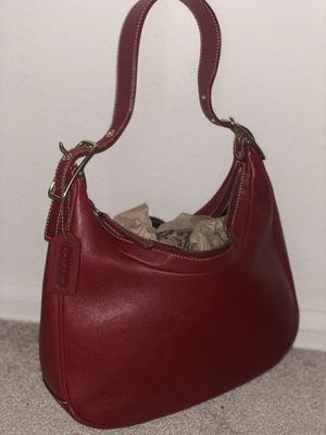 Red coach purse for Sale in Denver, CO
