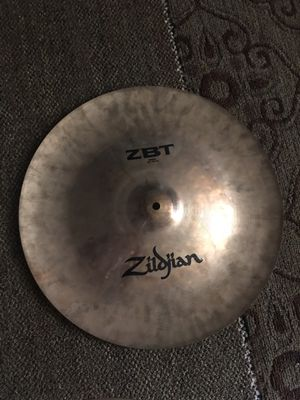 Zudjian Cymbals ZBT for Sale in Mount Airy, MD