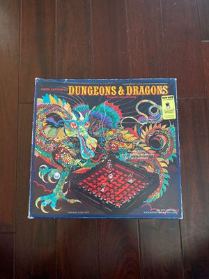 Dungeons and Dragons 1980 electronic game board with all pieces D&D warhammer for Sale in Martinez, CA