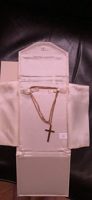 "24"" gold chain for Sale in Federal Way, WA"