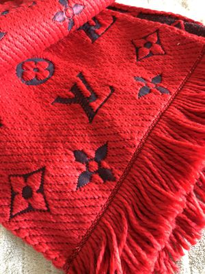 Authentic Louis Vuitton winter scarf Red for Sale in Seaside, CA