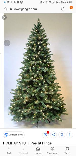 6 ft Prelit Christmas Tree ($25) for Sale in Dulles, VA