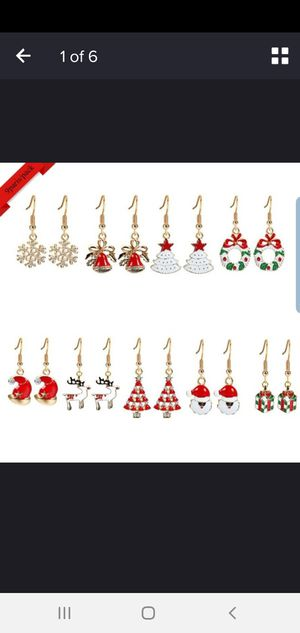 9 pairs pack of Christmas earrings for Sale in La Puente, CA