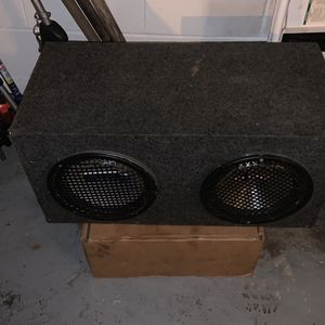Two 8 To Inch Speakers for Sale in Kissimmee, FL