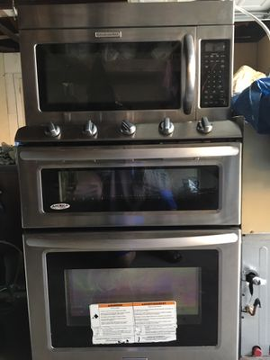 Stove America, Microwave kitchen aid for Sale in Fountain Valley, CA