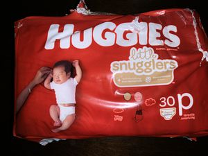 Huggies Preemie Little Snugglers Diapers for Sale in Aurora, IL