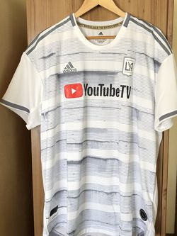 LAFC Jersey White Size 2XL Away YouTube Adidas Authentic New With Tags $120 for Sale in Hawthorne,  CA