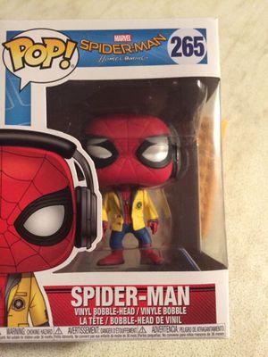 Spider-Man / Pop 265, With headphones for Sale in Mount Crawford, VA