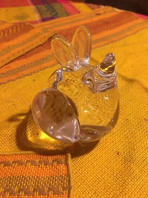 Small Glass Collectible Mouse Figure for Sale in Altadena, CA