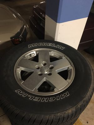"Jeep Sahara 18"" wheels for Sale in Arlington, VA"