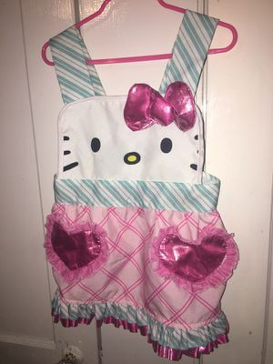 Hello Kitty apron for girls for Sale in Dallas, TX