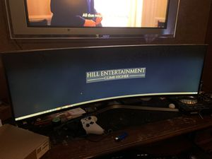 "49"" CHG90 QLED Gaming Monitor for Sale in Las Vegas, NV"
