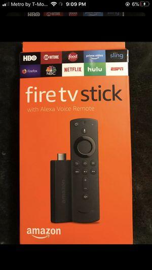 AMAZON fire 🔥 TV stick *new in box* $35 for Sale in Auburn, WA