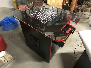 Arcade cocktail table with 60 classic games for Sale in Madera, CA