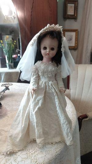 Antique vinyl wedding day doll for Sale in San Antonio, TX