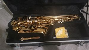 Opus USA by Ktone Professional Gold Alto Saxophone for Sale in Lawrence, MA