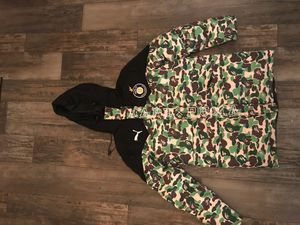 Bape x Puma Camo Long Down Jacket for Sale in Cleveland, OH