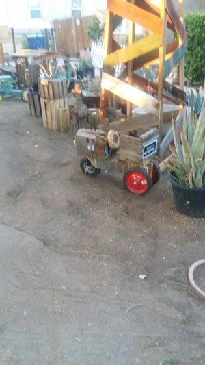 Wooden tractor for Sale in Clovis, CA