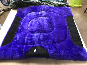 Purple fuzzy saddle pad for Sale in Spring Hill, FL