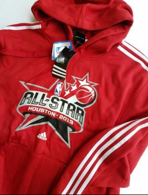 Mens Adidas XL Hoodie Houston NBA All-star 2013 Never worn/with tags for Sale in Cypress, TX