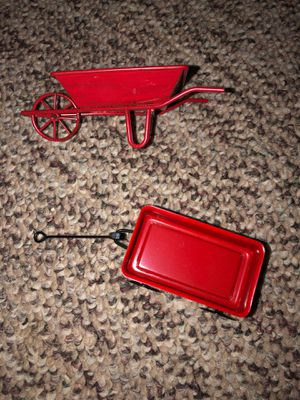 Red Wagon and Red WheelBarrel for Sale in Plainfield, IL