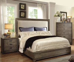 Cal King 5pc Bedroom Set with Mattress EveryThing is NEW for Sale in San Diego, CA