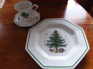 12 Sets Vintage Nikko Christmastime Dishes for Sale in Lake Wales, FL