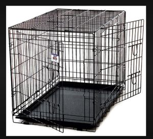 """MDouble Door Folding Dog Crate, 42"""" L X 28"""" W X 30"""" H for Sale in Plantation, FL"""