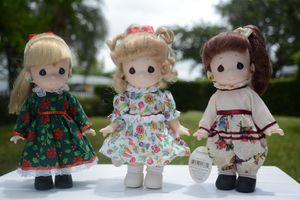 Precious Moment Dolls (July, November & December) for Sale in Miami, FL