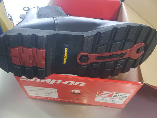 Snap on boots